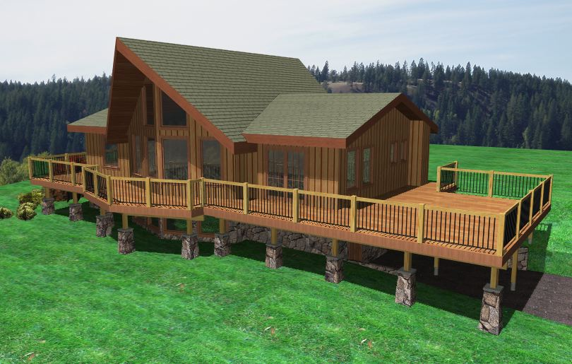Proposed deck.